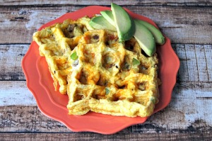 Waffled Eggs