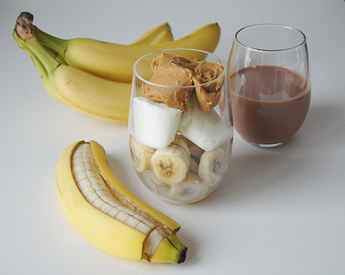 Chocolate Peanut Butter & Banana Smoothie Pack