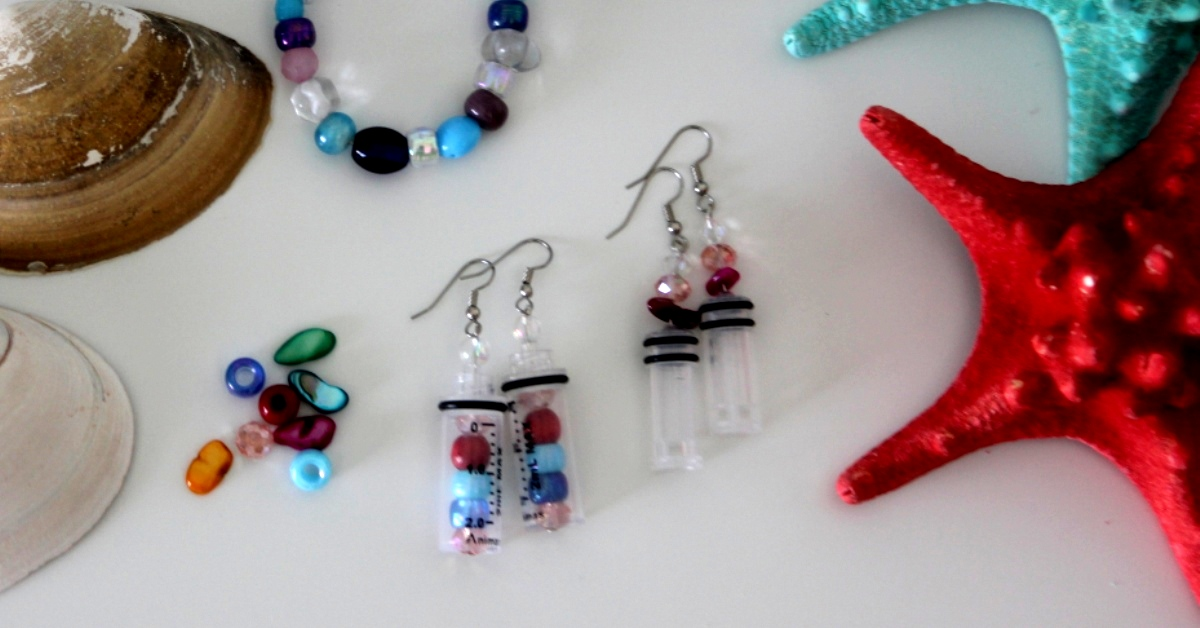 Make These DIY Earrings From Leftover Diabetes Gear