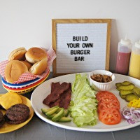 Build Your Own Burger Bar